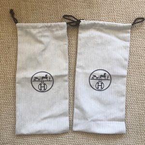 Hermes dust bags two